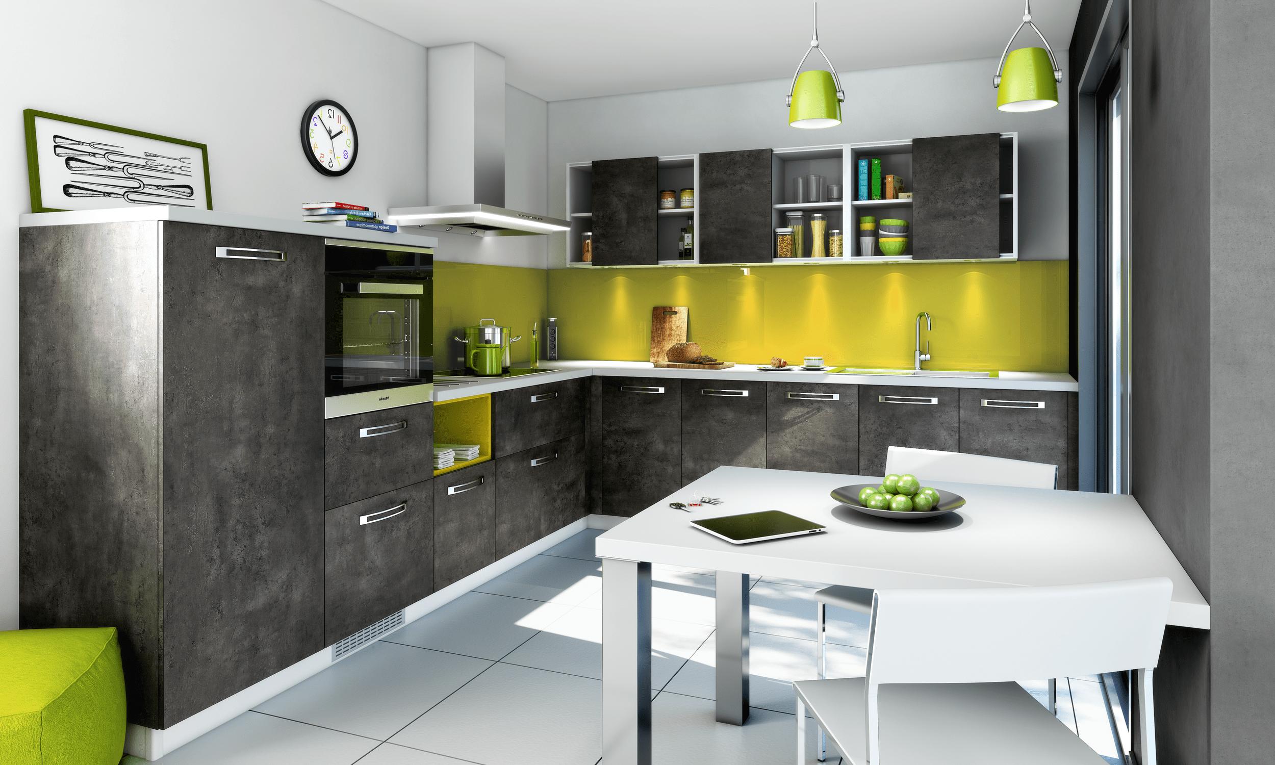 Une gamme compl te de cuisines quip es aux portes de for Cuisine 3d bessines